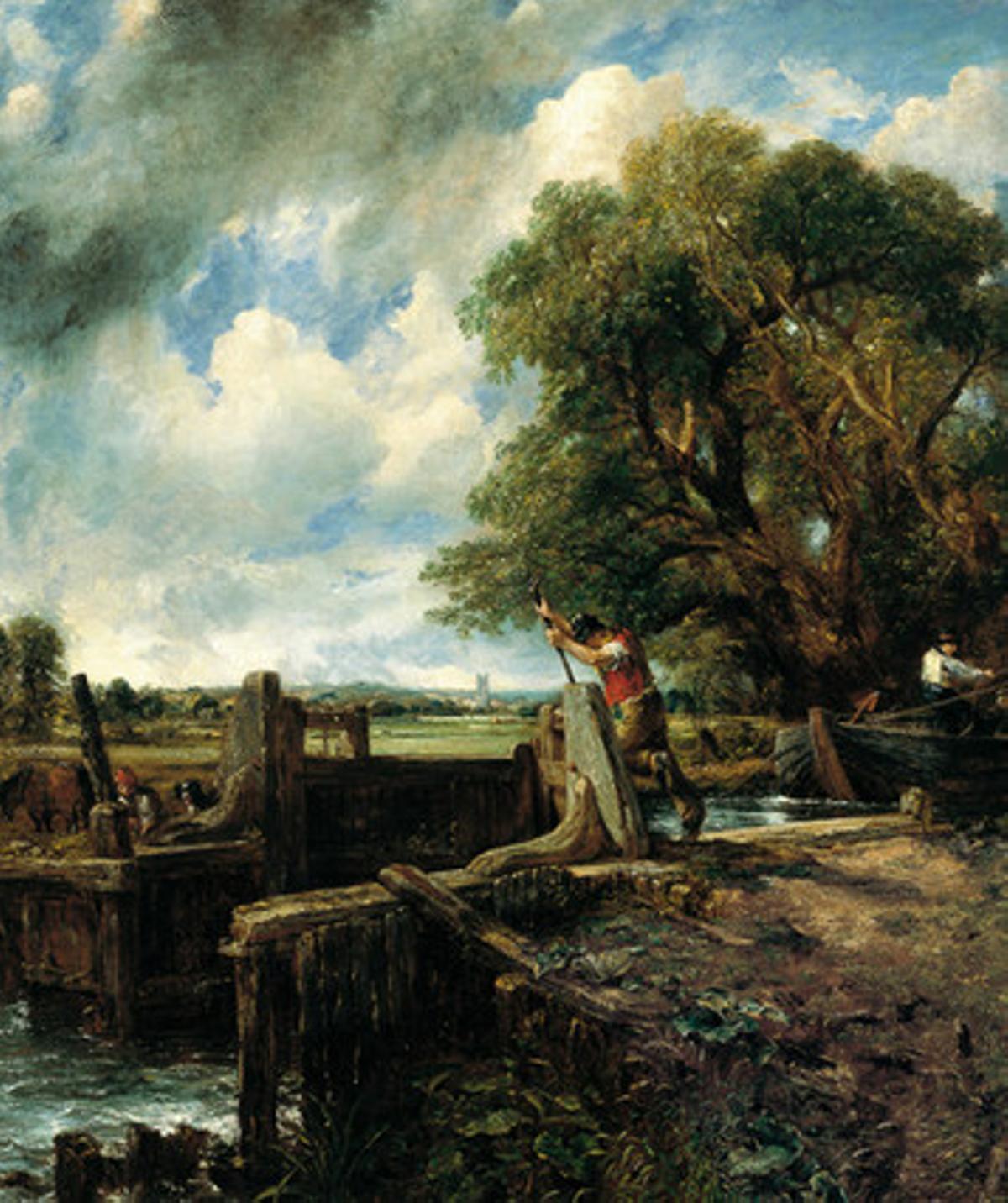 'La esclusa', de John Constable.