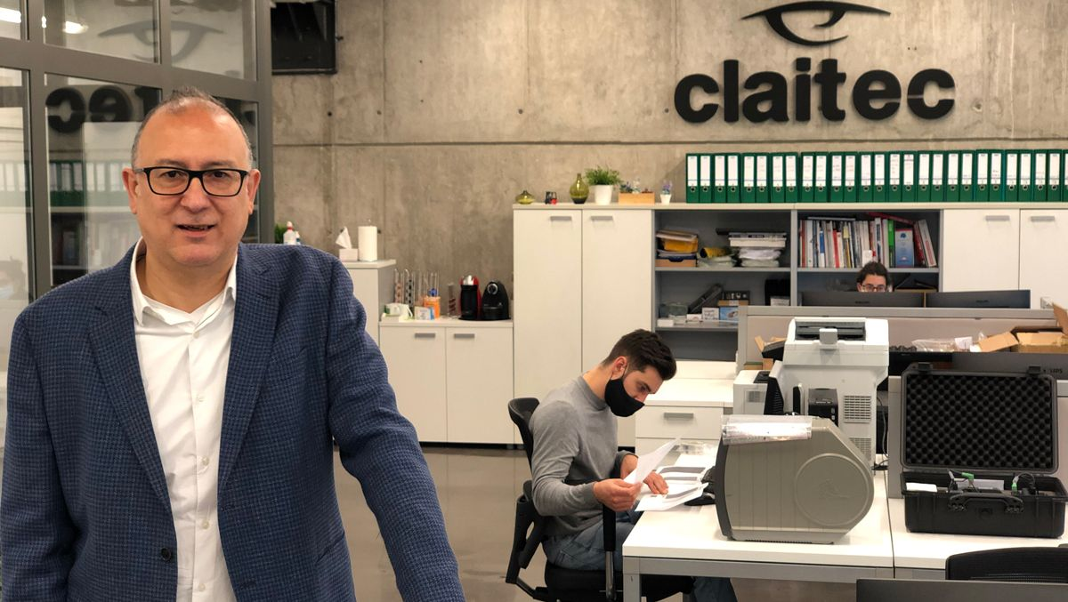 Ricard Chetrit, 'managing director' de Claitec.