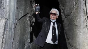 Karl Lagerfeld, en una imagen de octubre pasado.