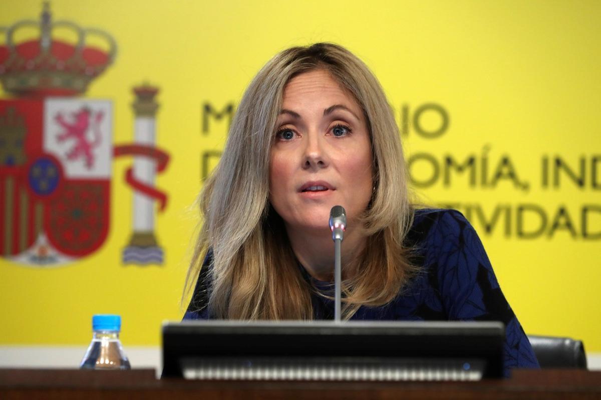 Emma Navarro en su etapa como secretaria general del Tesoro del Ministerio de Economía.
