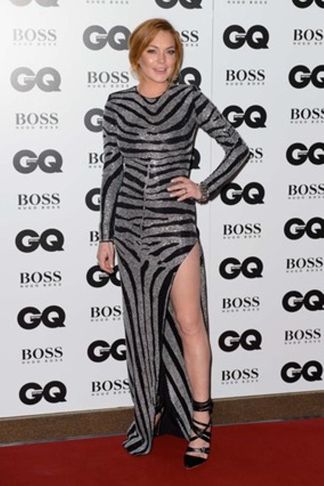 L'actriu Lindsay Lohan, en una entrega de premis a Londres, el setembre de l'any passat.