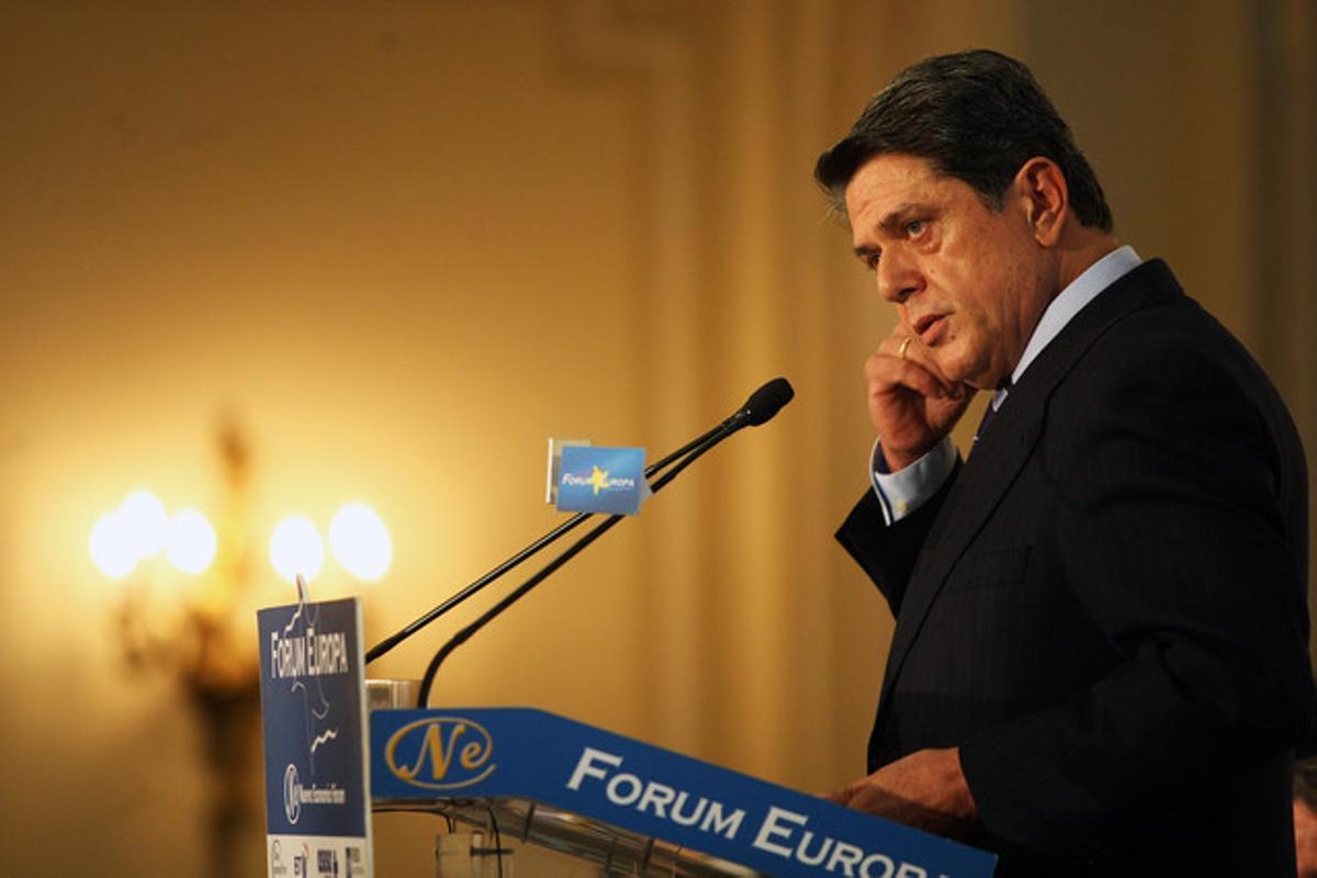 Federico Trillo, en un acto en Madrid el pasado febrero.