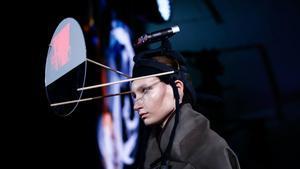 Una de las creaciones de Txell Miras (otoño-invierno 2020), en la cita de Barcelona del febrero pasado.