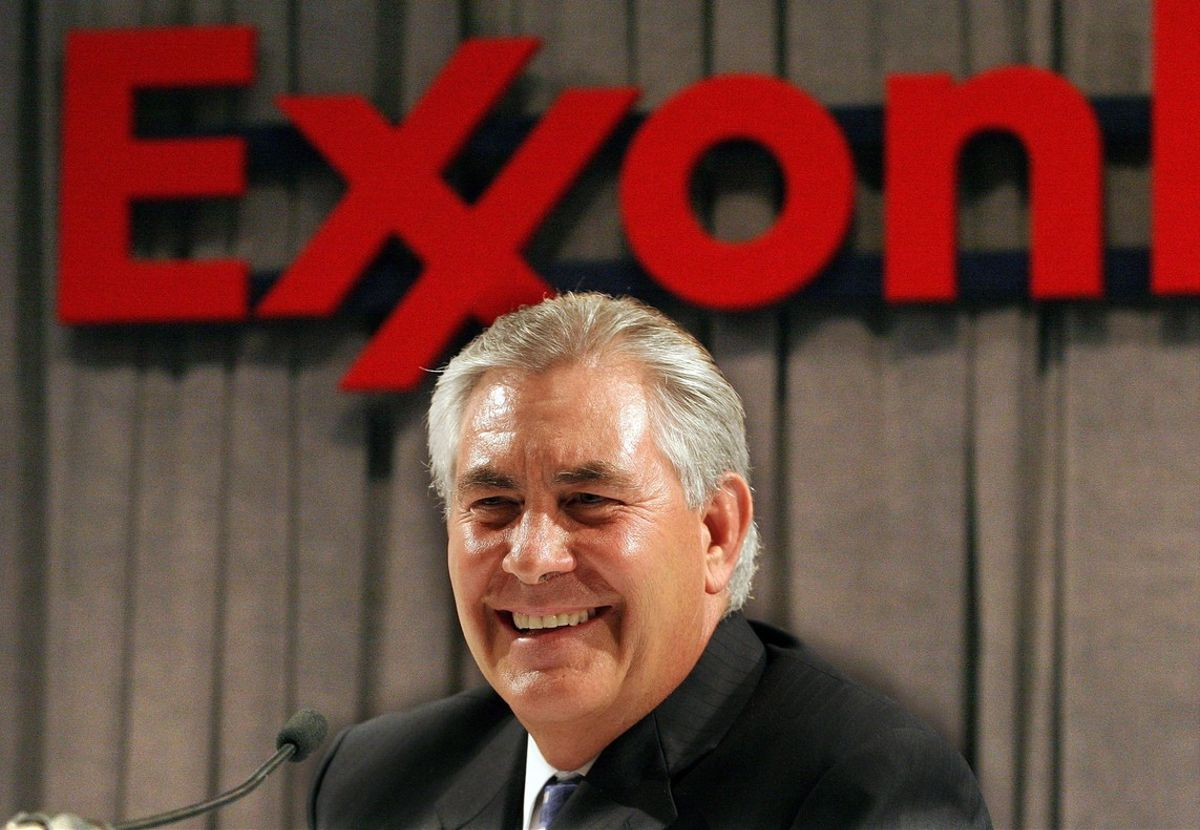 Rex Tillerson, hasta ahora consejero delegado de ExxonMobily futuro secretario de Estado de EEUU.