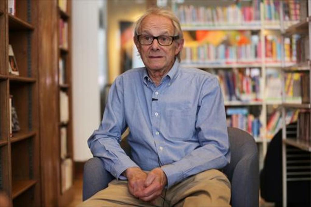 El cineasta Ken Loach.