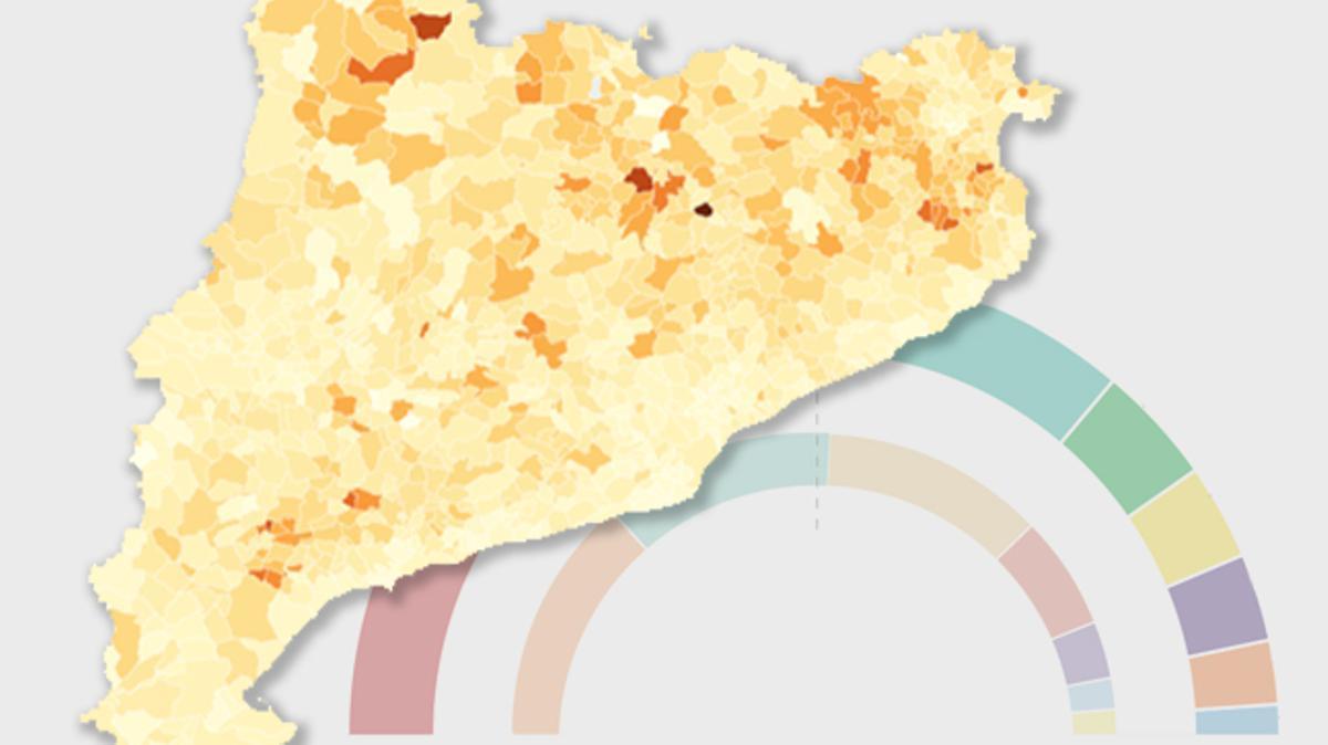 Estos han sido los resultados de la CUP por municipios en Catalunya