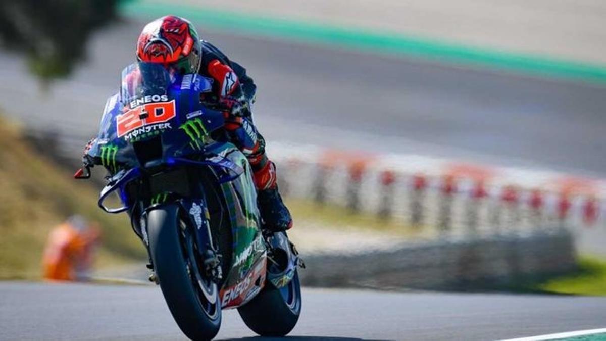 Fabio Quartararo domina a placer el GP de Italia.