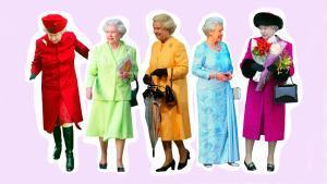 El estilo de ropa de Isabel II