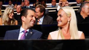 Vanessa Trump, ex modelo y actriz, y JaredKushner, marido de Ivanka Trump.