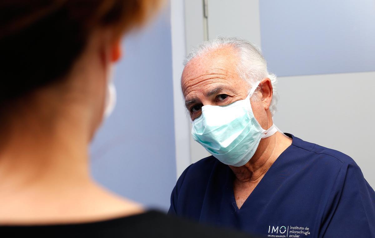 Dr. Borja Corcóstegui, experto en retina, de IMO Grupo Miranza