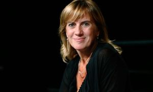 La periodista Gemma Nierga, ganadora de unPremio Ondas en 1997 por el programa 'Hablar por hablar', de la Cadena SER.