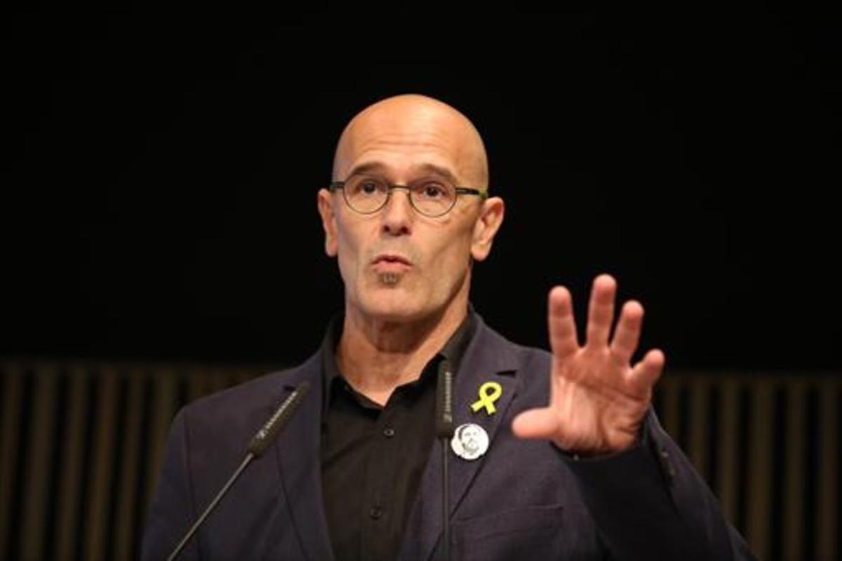 Raül Romeva,en la campaña electoral del 21-D.