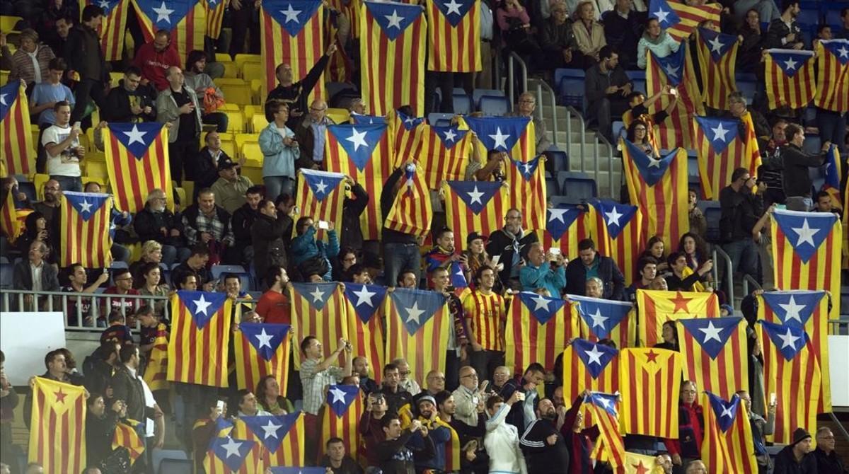 'Estelades'en el Camp Nou.
