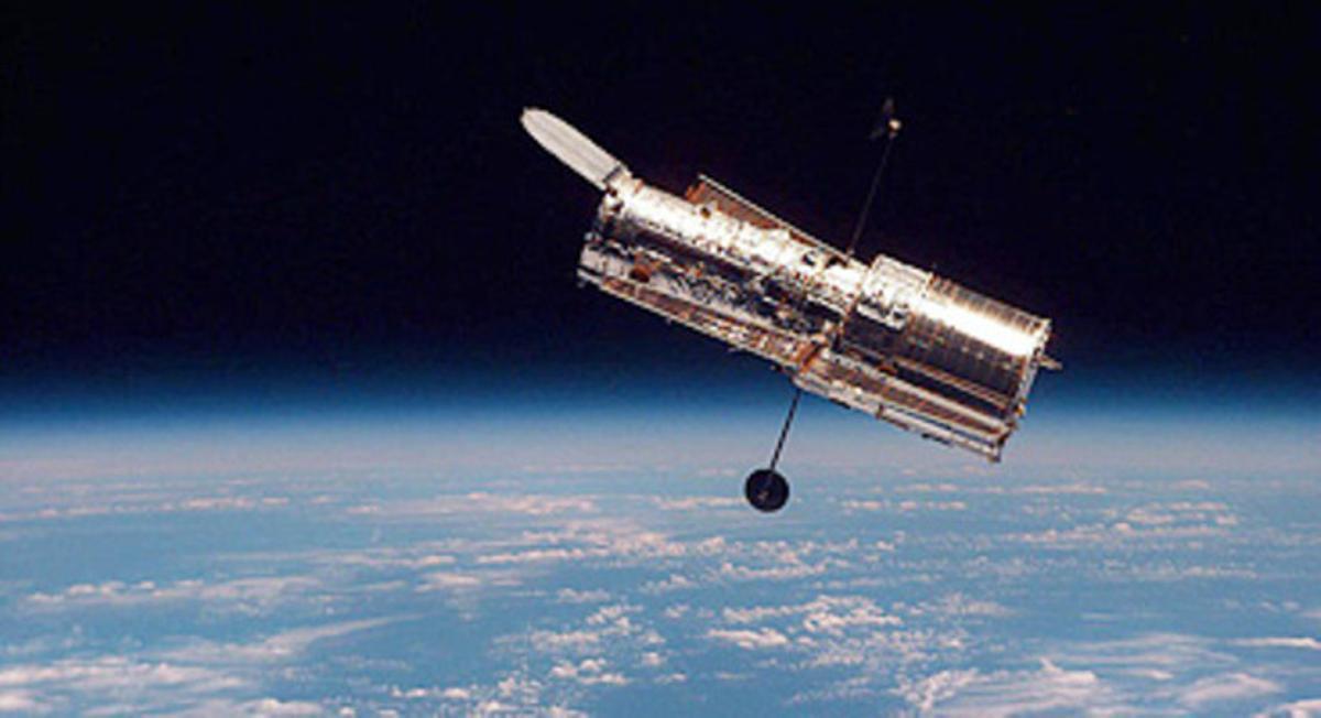 El telescopio espacial 'Hubble'.