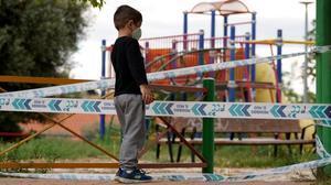 Madrid reobre les zones infantils dels parcs aquest dilluns