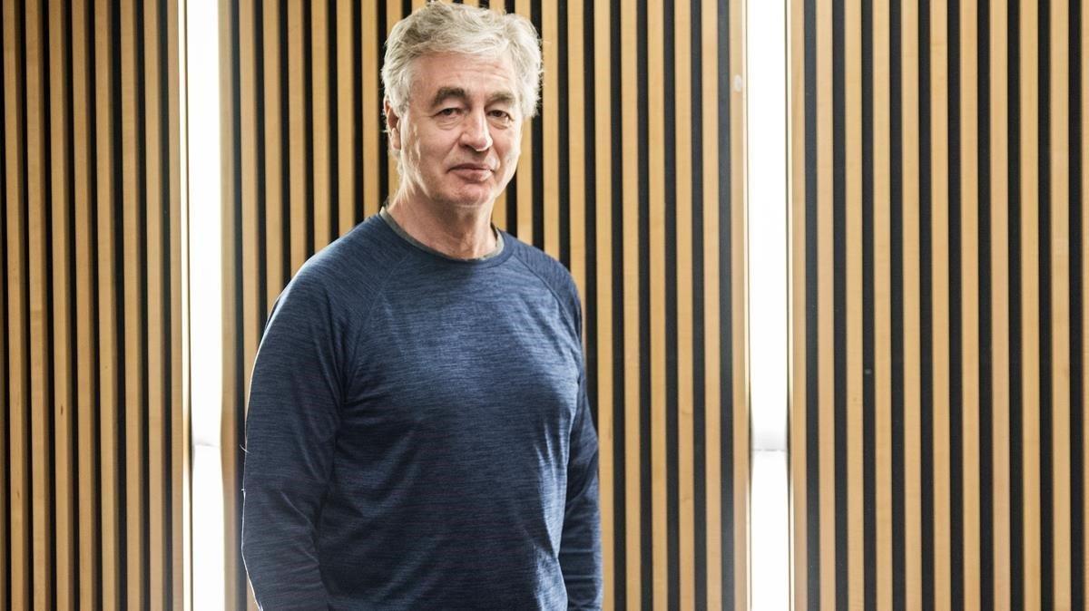 El director Steve James, en la Filmoteca de Catalunya