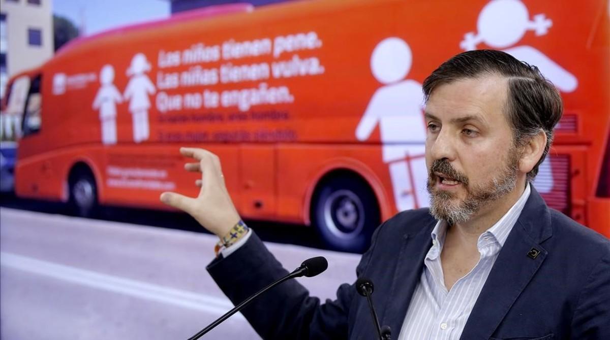 Ignacio Arsuaga,presidente de Hazte Oír.