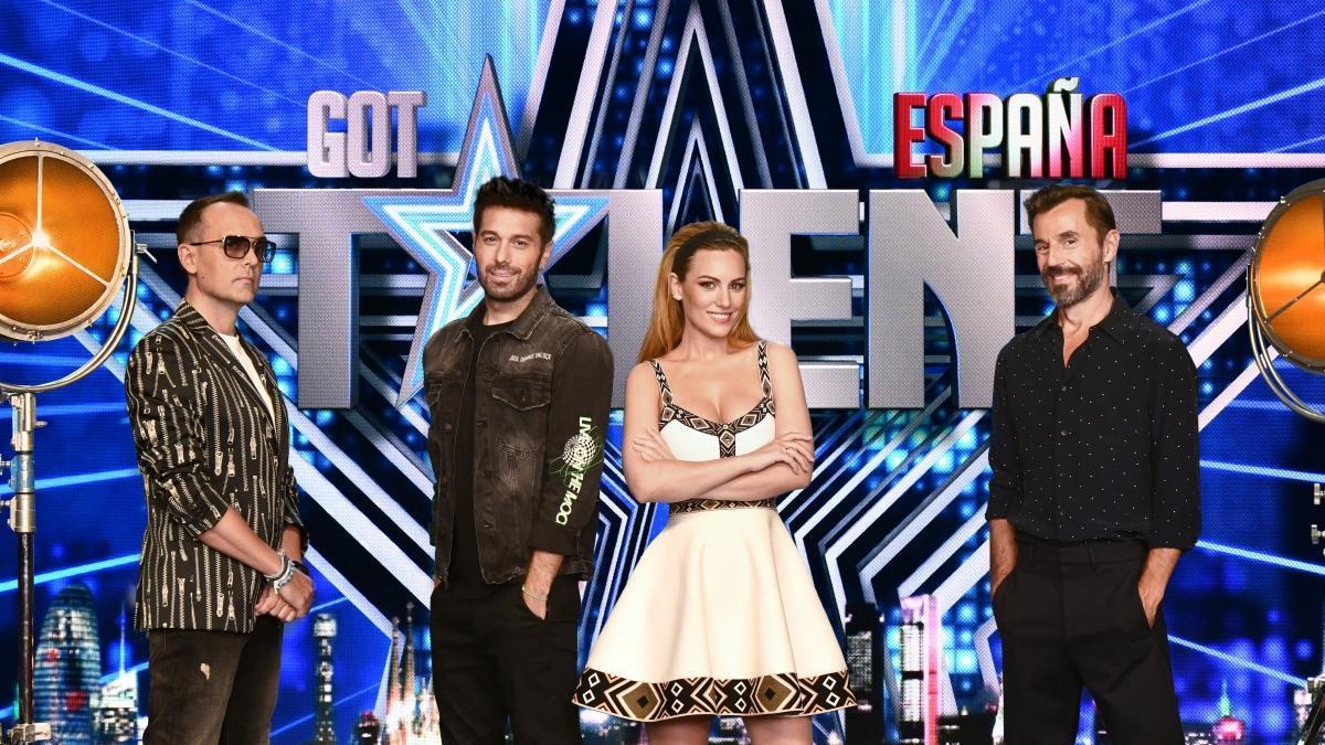 El jurado de 'Got Talent 6' y Santi Millán.