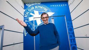 Entrevista con Fernando Vázquez: No me retiro hasta que el Depor esté en primera.