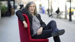 El músico y escritor Gerard Quintana, este viernes.
