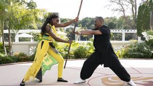 KiKi Layne y Eddie Murphy en una imagen de 'El rey de Zamunda'.