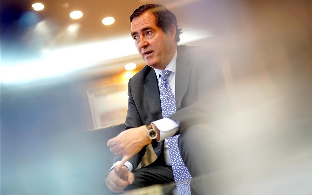 Garamendi: «Pablo Iglesias ha jugat un paper rellevant en l'acord del salari mínim»