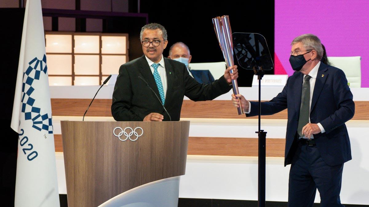 L'OMS recolza la celebració dels Jocs Olímpics enmig de la pandèmia
