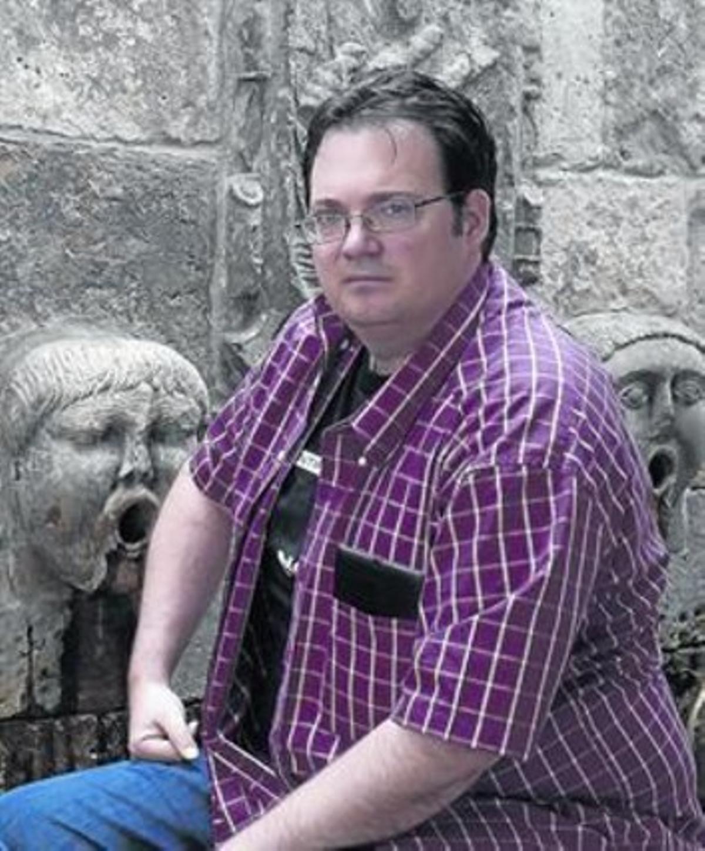 Brandon Sanderson, en el festival Celsius 232 d'Avilés.