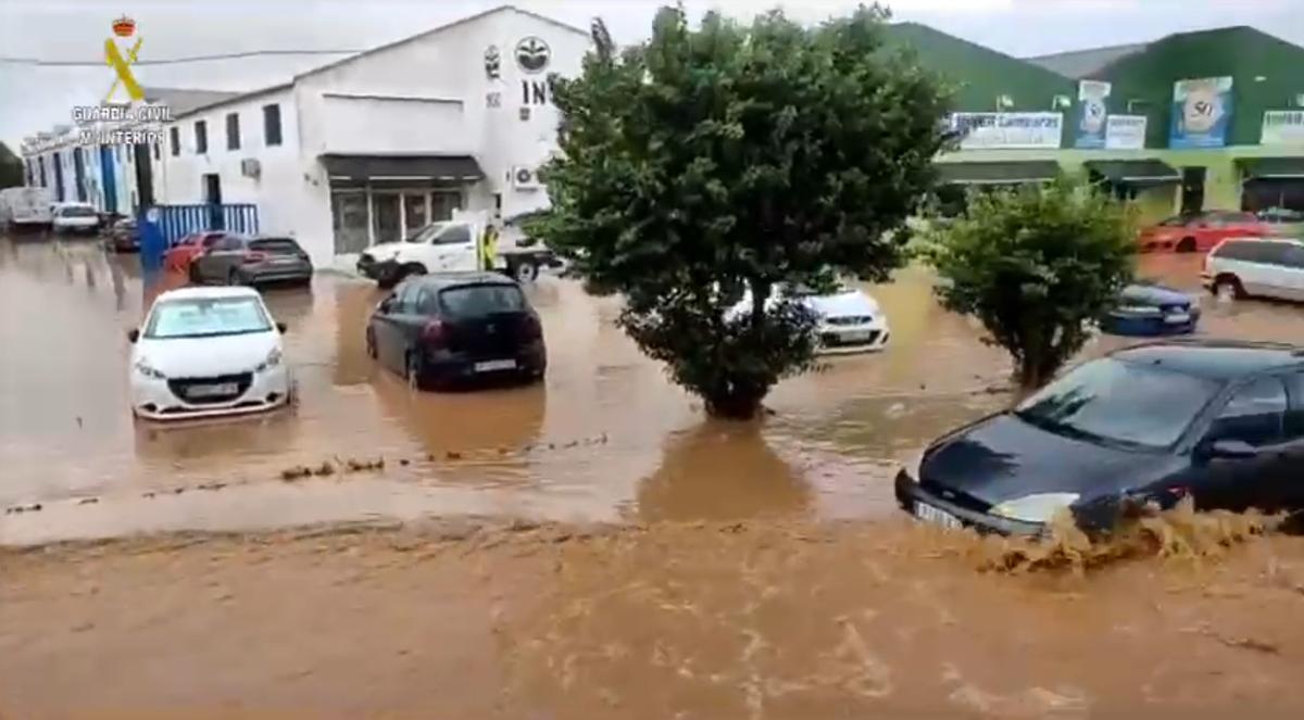 Inundaciones en Huelva: Isla Cristina, Lepe y Ayamonte, las localidades más afectadas