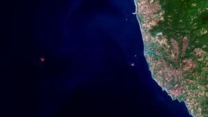 L'ESA capta des de l'espai una illa amb forma de cor