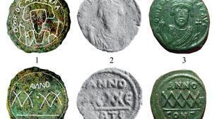 Trobada a Ceuta una moneda de coure del segle VII