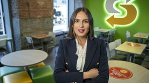 Sofía García, directora de marketing para Europa Mediterránea de Subway