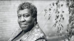 La escritora Octavia Butler.