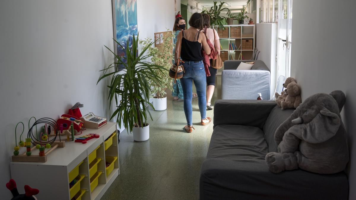 Las instalaciones, provisionales, de la Barnahus Tarragona, están ubicadas en una antigua enfermería.