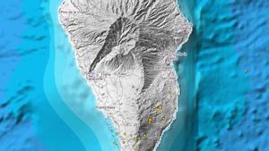 Detectados 29 terremotos de pequeña magnitud en La Palma desde el sábado