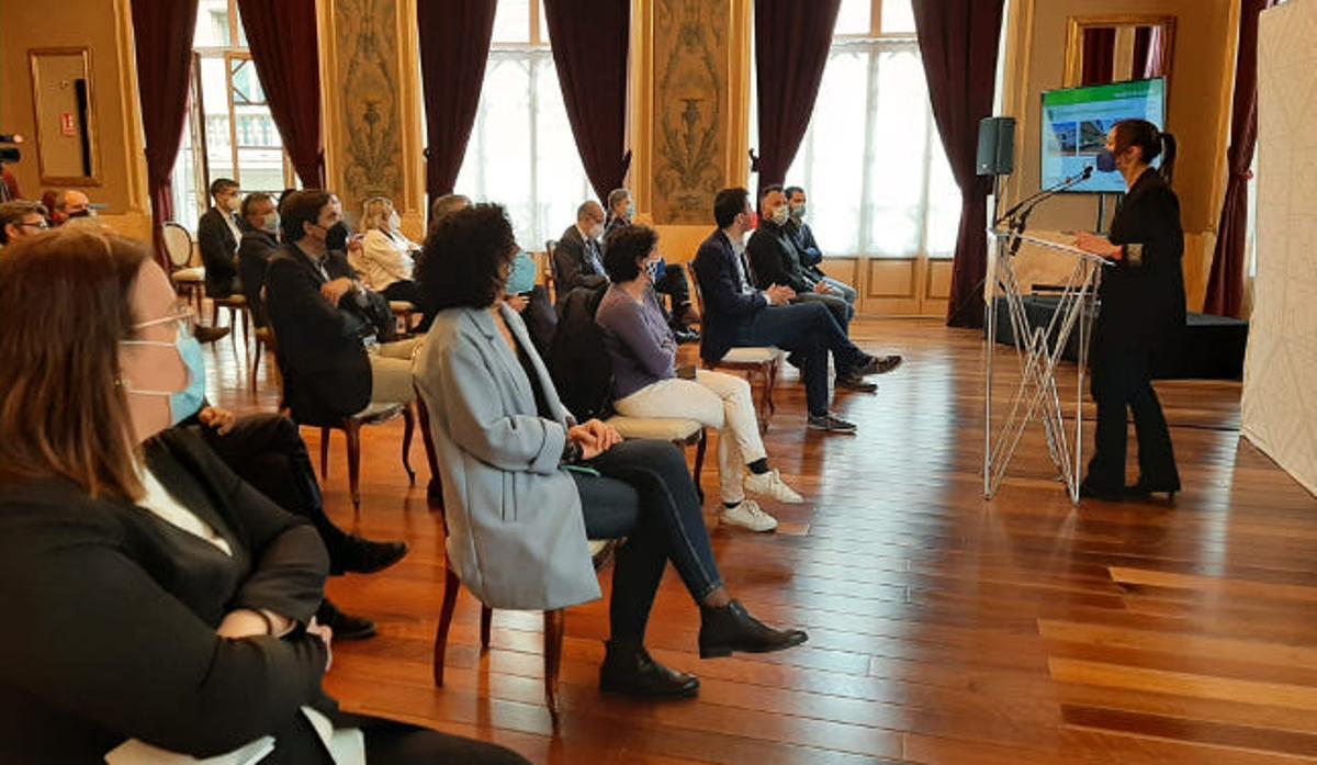 Presentación de los proyectos de Sabadell al fondo europeo Next Generation