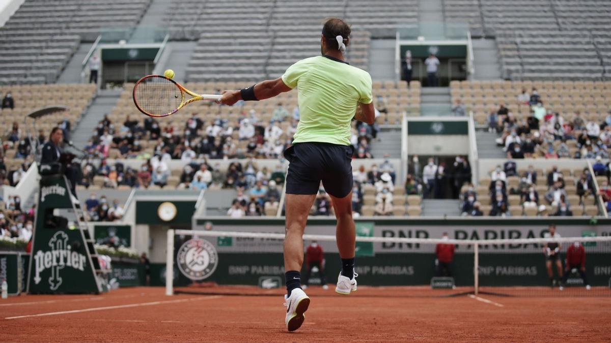 Nadal entra a vuitens de Roland Garros per 16a vegada
