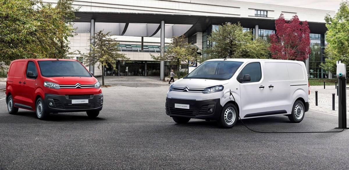 Nuevo Citroën e-Jumpy eléctrico con hasta 330 km de autonomía