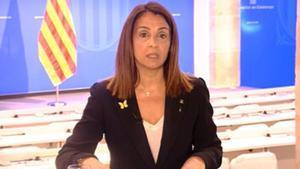 Meritxell Budó asegura que el Govern no prevé ninguna fecha electoral.