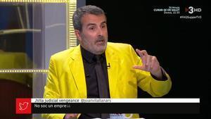 Xavier Sala Martín en FAQS (TV3).