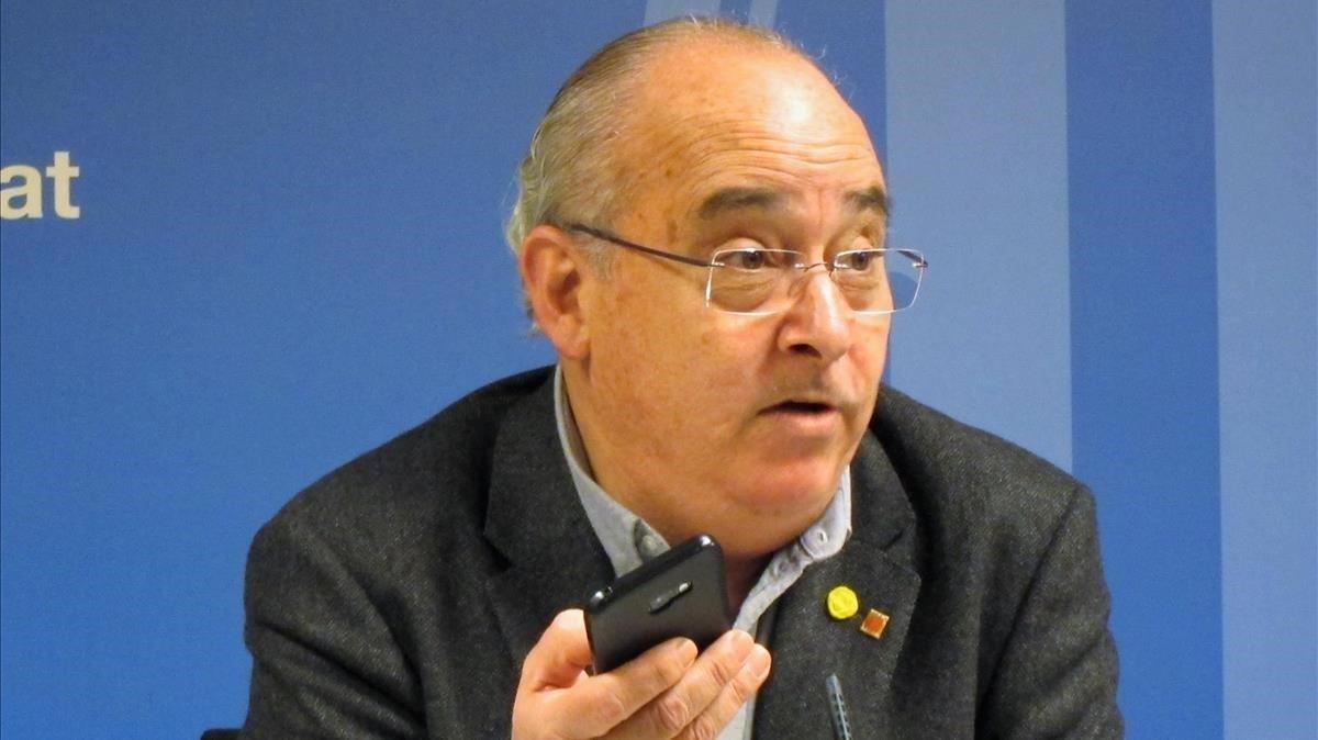 El 'conseller' de Educació, Josep Bargalló