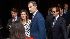 Los reyes de España, Felipe VI y doña Letizia.