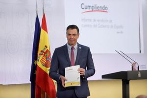Así ha sido la comparecencia de Pedro Sánchez desde la Moncloa