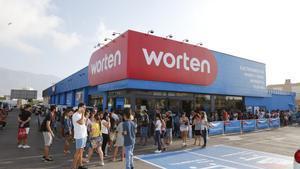 Worten ultima 222 acomiadaments i culmina el seu tancament de botigues a l'Espanya peninsular