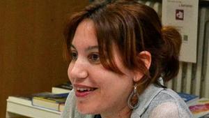 Sílvia Caballol, en una de las pocas imágenes que circulan.