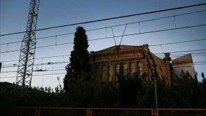 La fábrica de uralita en Cerdanyola del Vallès.