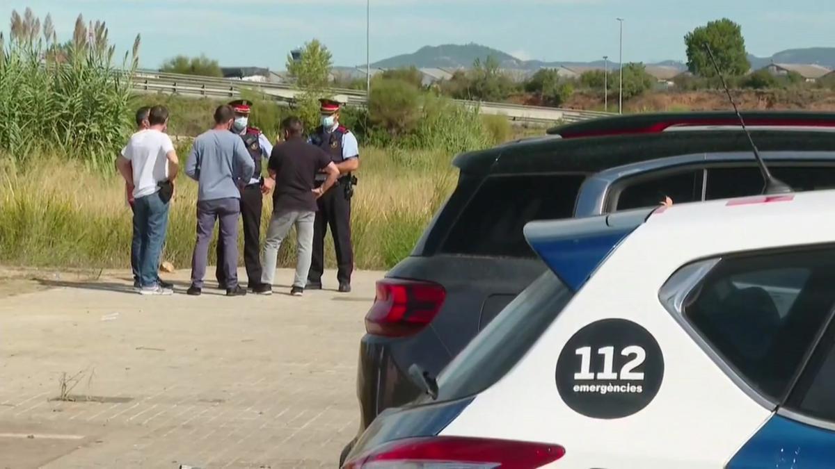 El lugar de Sabadell donde se ha producido un tiroteo que ha causado cinco heridos.