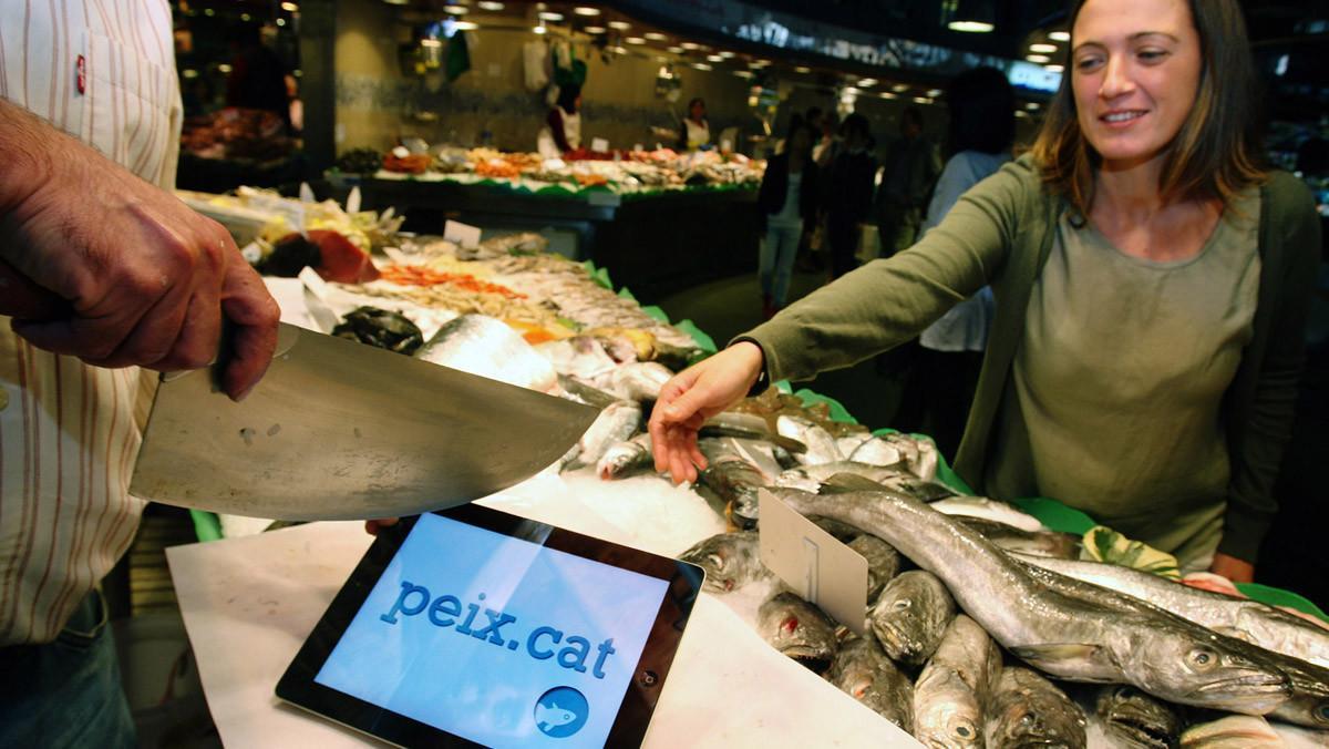 La aplicación peix.cat, creada por la Peixateria Ripoll Esteve.