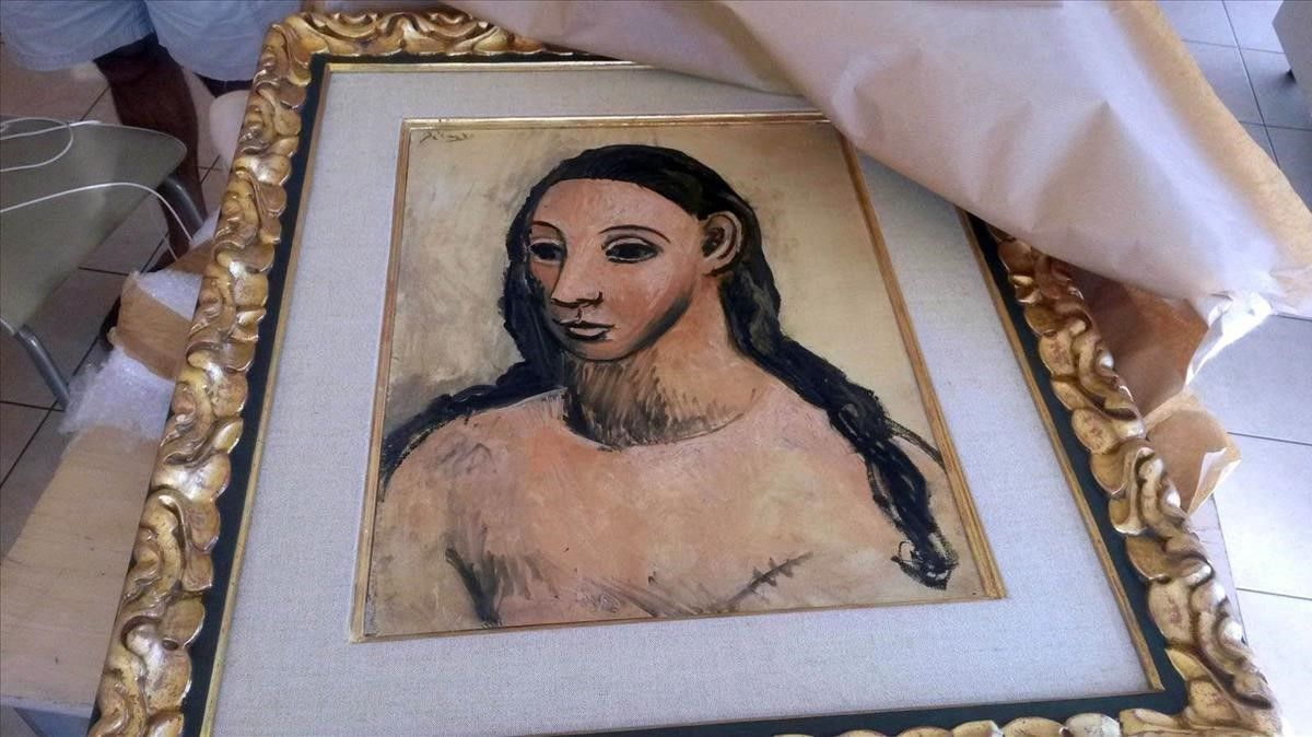 'Cabeza de mujer jóven', obra de Picasso.