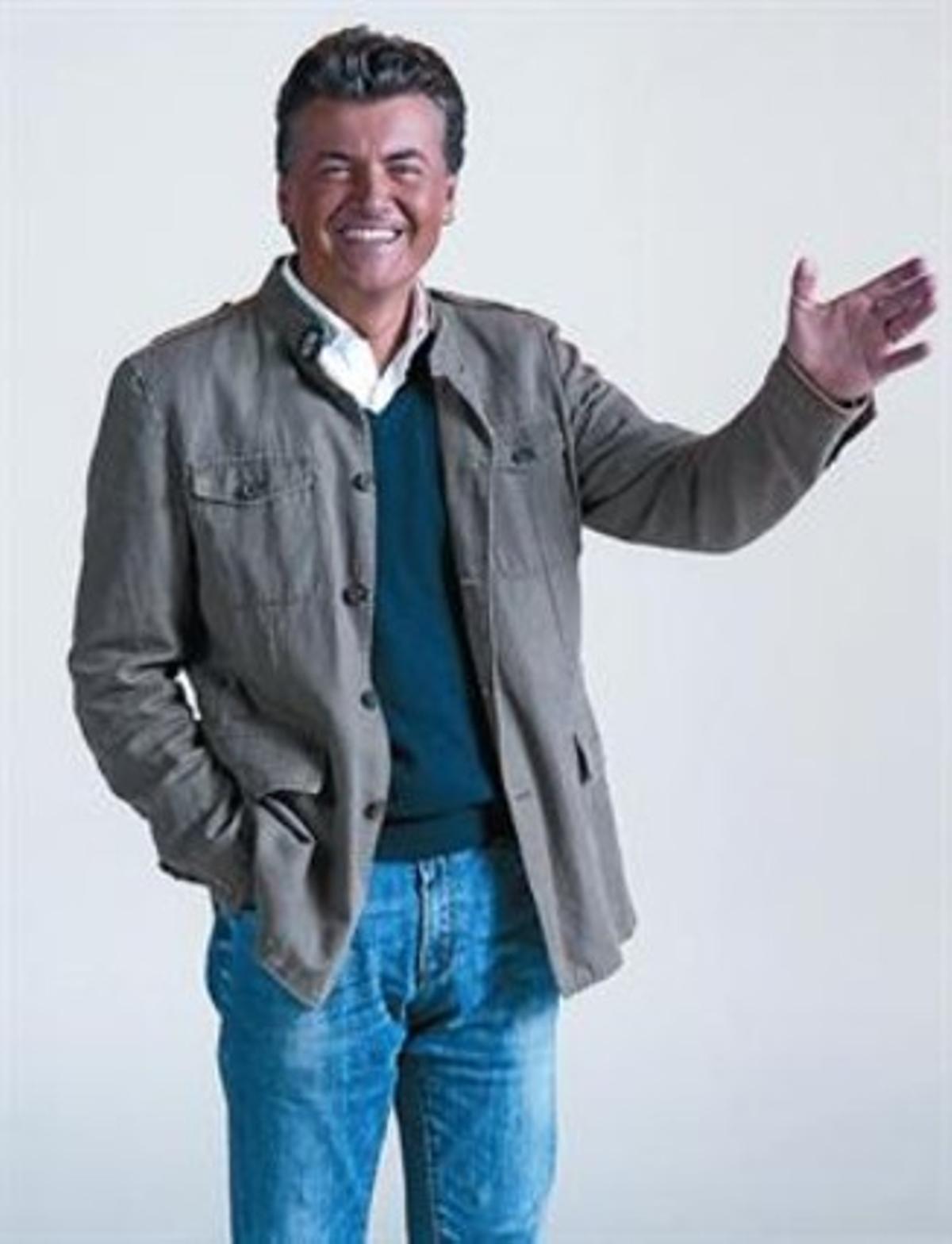 Ramon Gener, en una imagen promocional de 'Òpera en texans'.